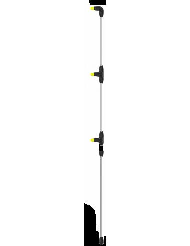 Lance verticala din aluminiu cu 3 duze