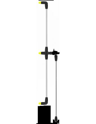 Lance orizontala din aluminiu cu 3 duze